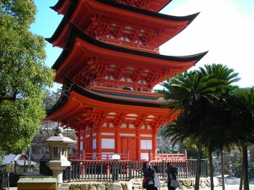 Pagoda 1, Miyajima, 3/4/2009